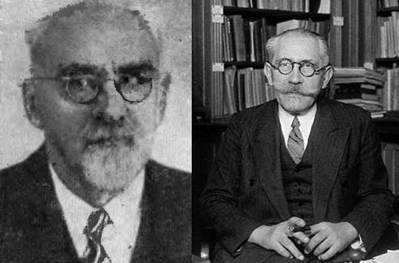 Константин Шиловский и Пьер Ланжевен