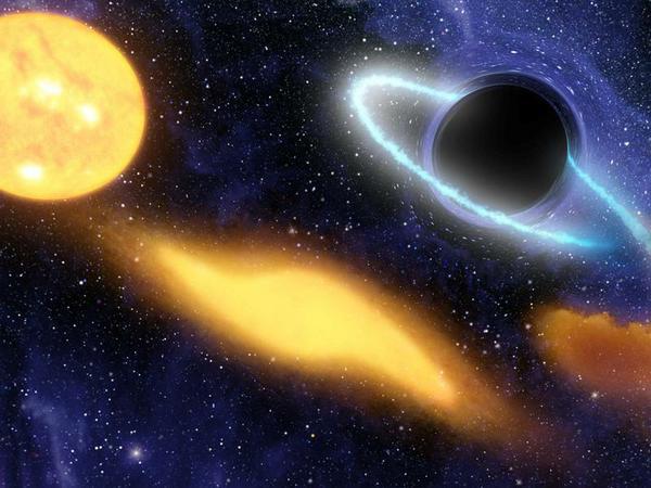 Загадки Чёрных дыр