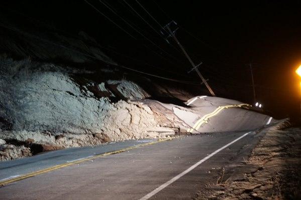 В районе разлома Сан Андреас произошло смещение почвы (Пресса молчит) 5MUiH3qQSzE