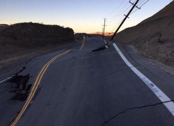 В районе разлома Сан Андреас произошло смещение почвы (Пресса молчит) 9S0M-QUJVoE