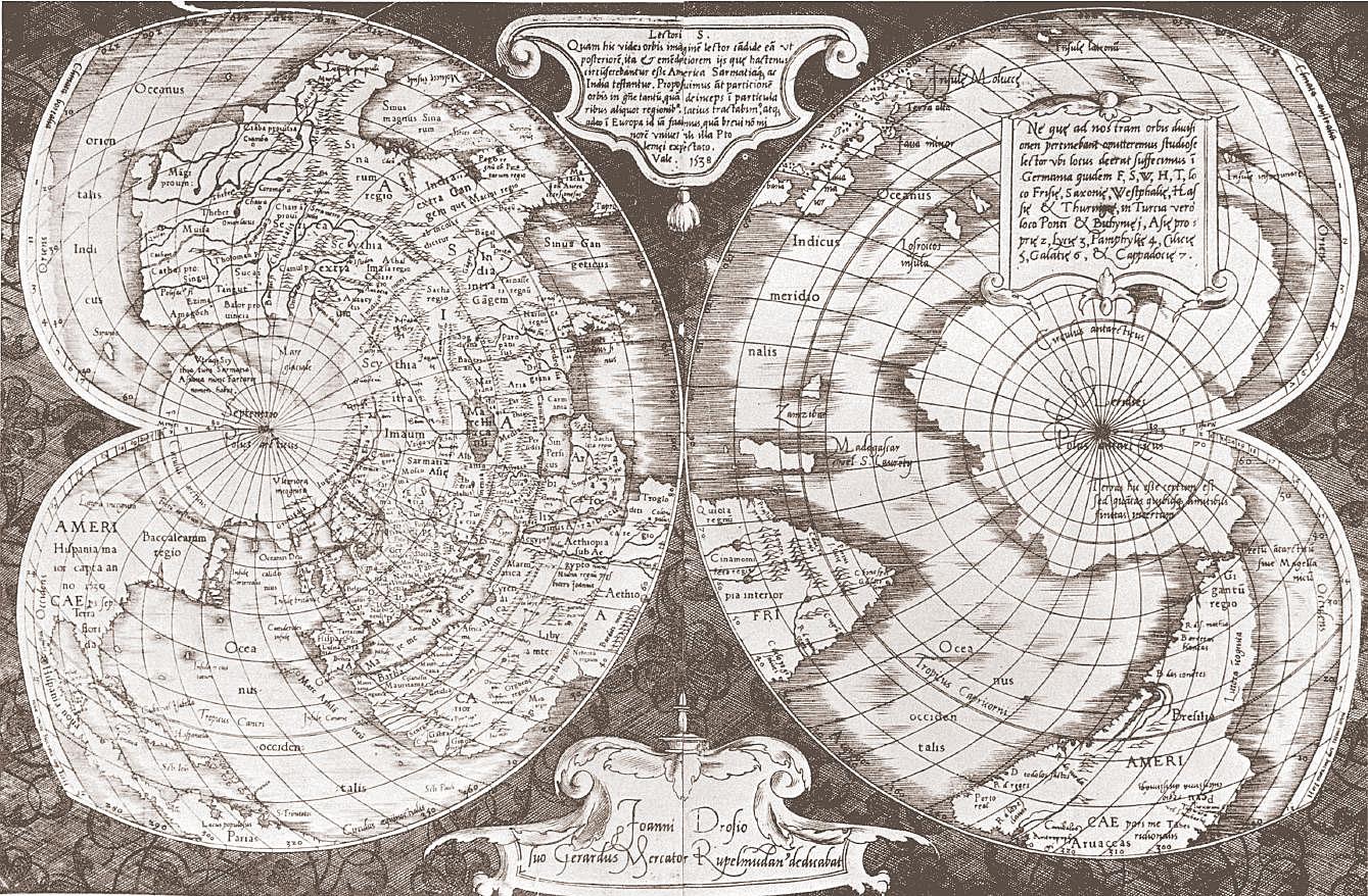 Загадка карты Меркатора 1538 года - 29 Марта 2013 | Земля - Хроники жизни