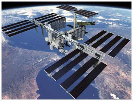 На Международной космической