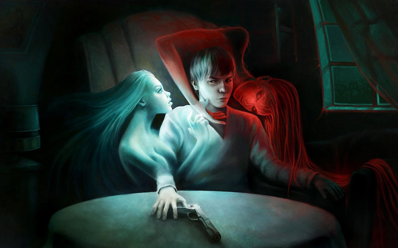 самые сексуальные картинки на тему ангелы и демоны