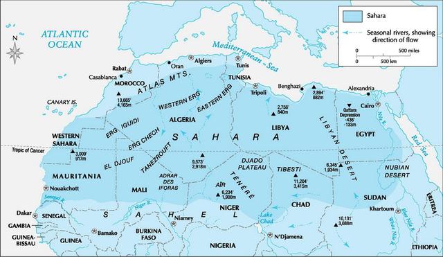 Загадочный народ древней Сахары и тайна его исчезновения