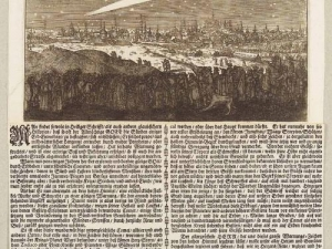 Сообщение о комете Нового времени