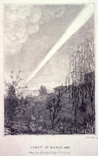 Комета в 1843 году