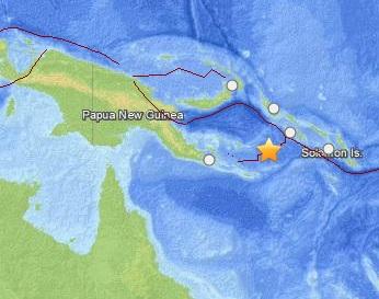 Землетрясение магнитудой 6,1 произошло у Соломоновых островов CVAVR AVR CodeVision cvavr.ru