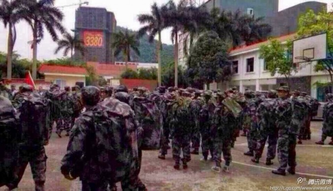 Вьетнамским судам приказано таранить китайские