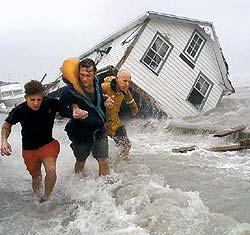 исследования стихийных бедствий на земле: