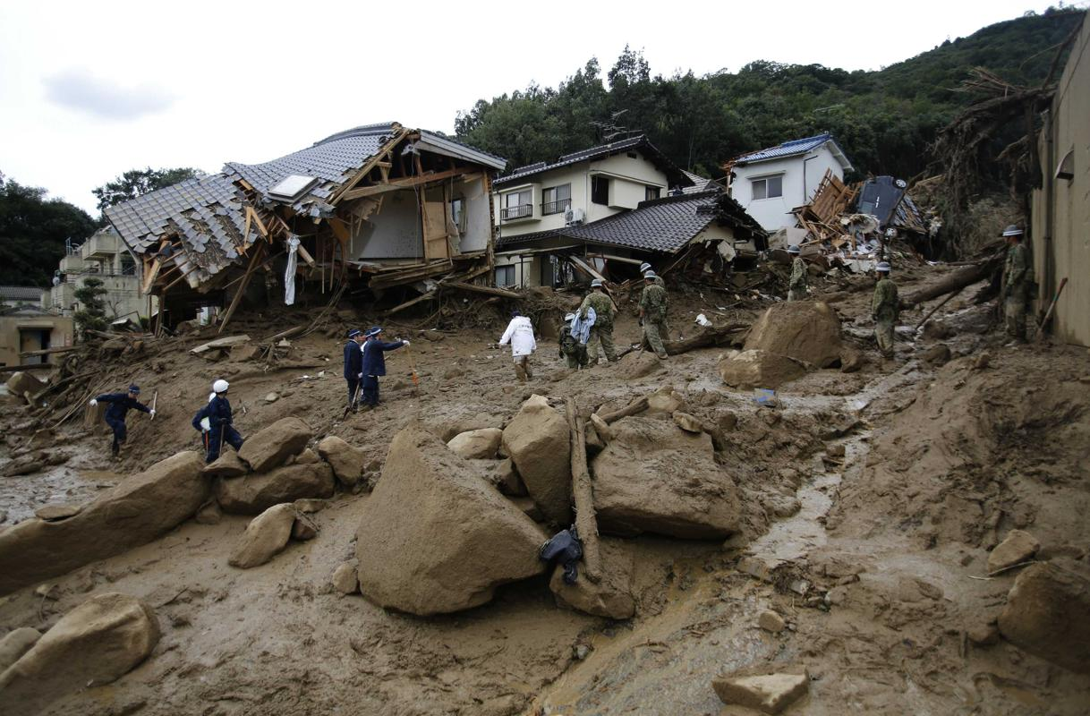 39 человек стали жертвами оползней в Хиросиме CVAVR AVR CodeVision cvavr.ru