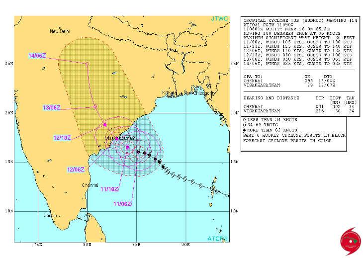 На востоке Индии проводят эвакуацию жителей из-за циклона Хадхад CVAVR AVR CodeVision cvavr.ru