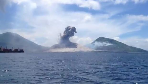 Уникальное видео извержения вулкана Тавурвур CVAVR AVR CodeVision cvavr.ru