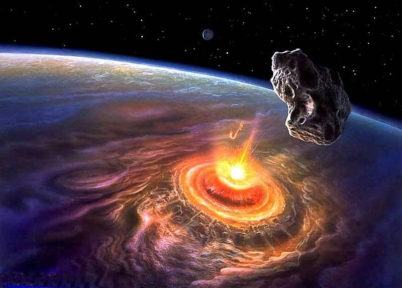 the threat of the asteroids to the earth