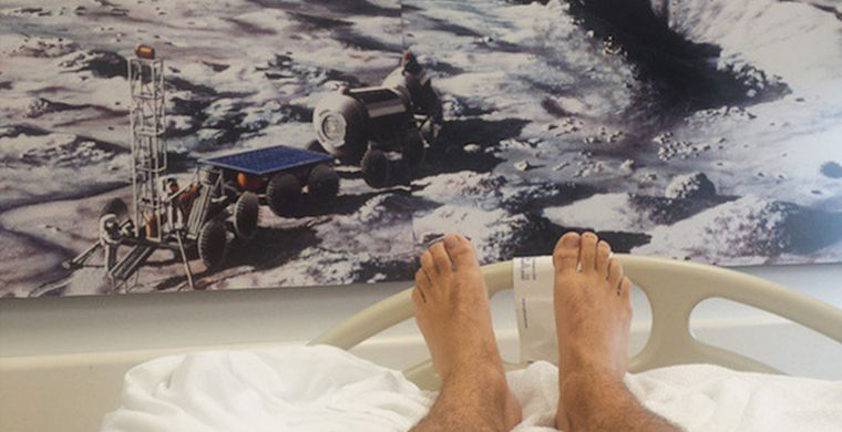 Flatout working NASA to pay 18 grand for 70day sleep