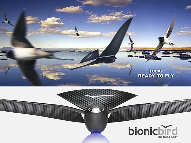 bionic bird: сверхреалистичный робот-птица CVAVR AVR CodeVision cvavr.ru