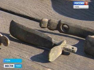 Археологи раскопали в Туле оружейный клад CVAVR AVR CodeVision cvavr.ru