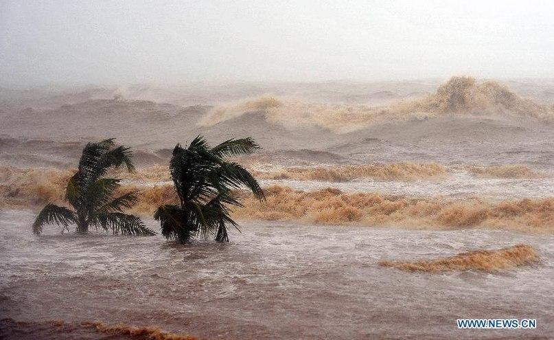 В Китае бушует тайфун «Калмаеги». CVAVR AVR CodeVision cvavr.ru
