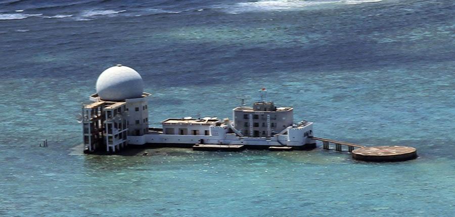 Китай построил секретный остров в Южно-Китайском море CVAVR AVR CodeVision cvavr.ru