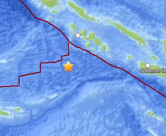 Землетрясение магнитудой 6,0 произошло у Соломоновых островов CVAVR AVR CodeVision cvavr.ru