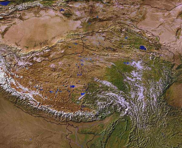 Тибетское плато поднимается, расширяясь по площади в восточном и западном направлении CVAVR AVR CodeVision cvavr.ru
