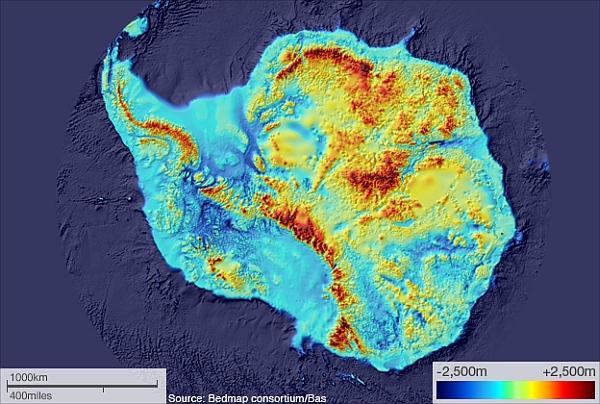 Антарктида подо льдом фото 345-622