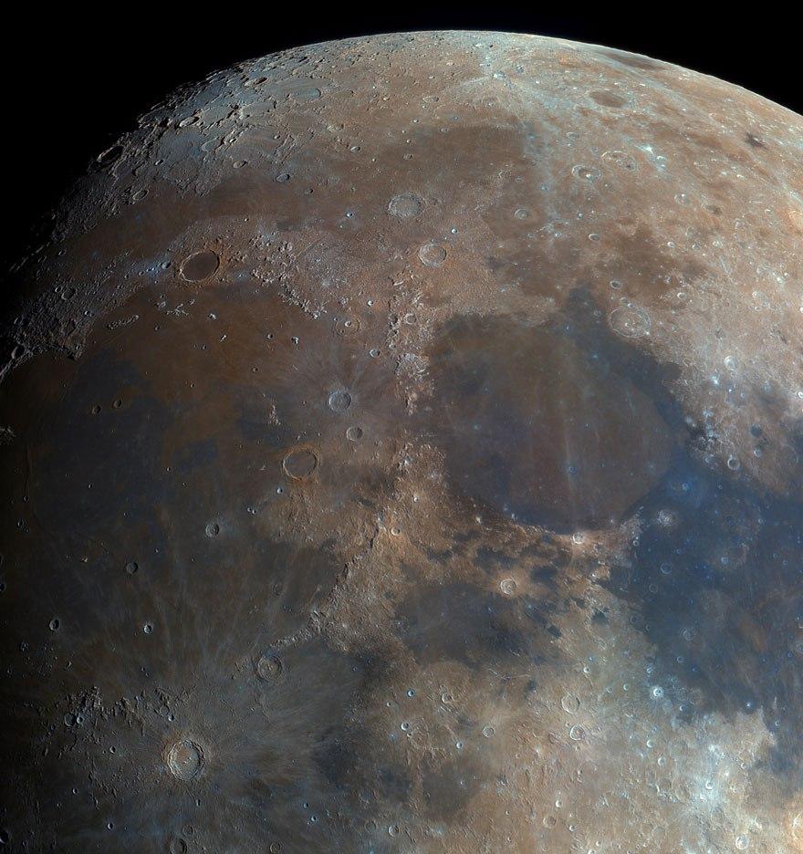 реальные фото луны из космоса россии обрело