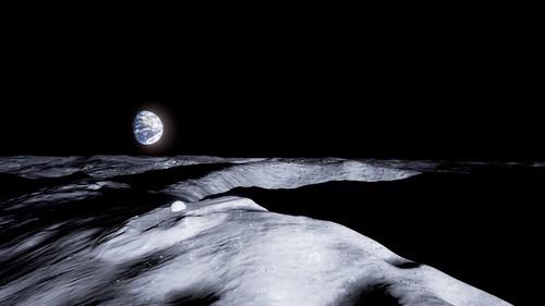 На Луне предлагают  построить храм «Пик Вечного Света»