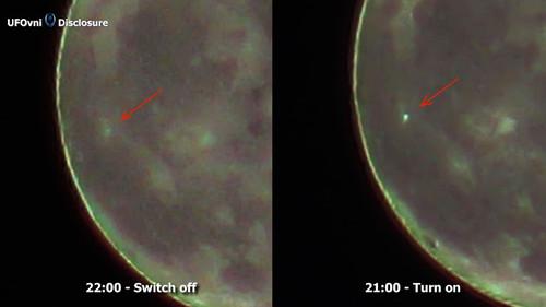 Ученые: пришельцы отправляют сЛуны таинственные световые сигналы