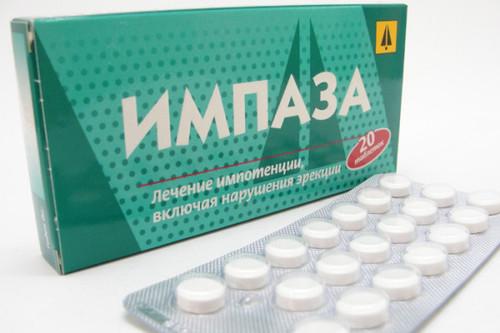 Таблетки для повышения потенции импаза отзывы