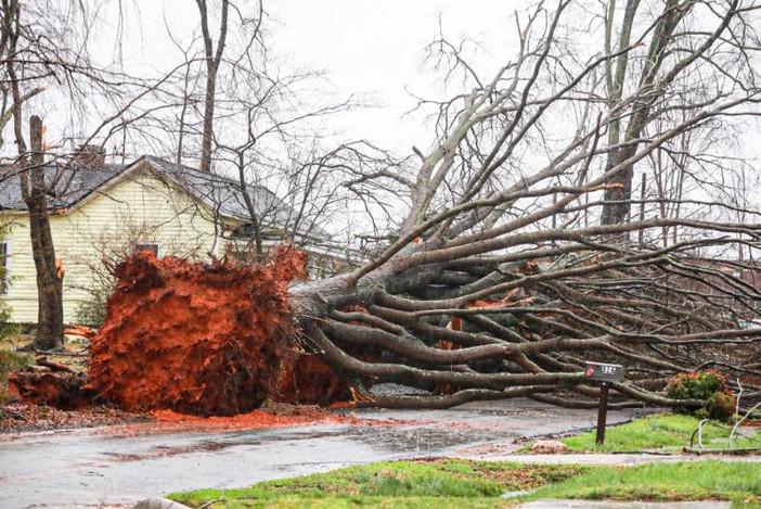 Штормовая погода на юге США Природа,дожди,сша,Торнадо,шторм