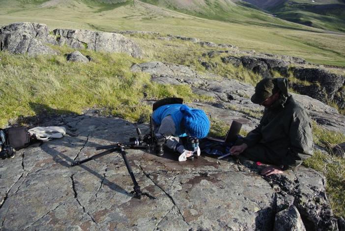 Уникальная находка калгутинских петроглифов