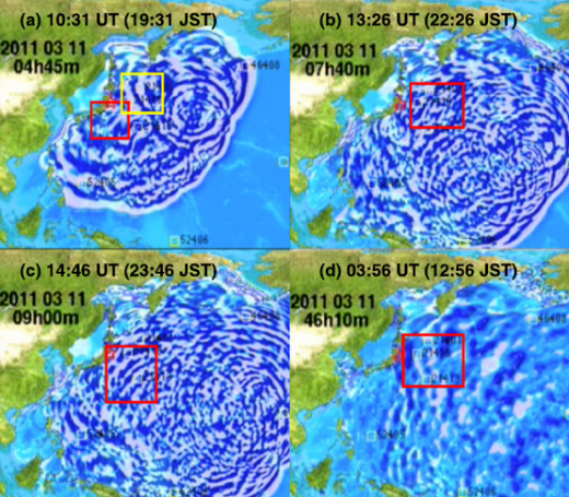 Землетрясения и цунами воздействуют на ионосферу гораздо сильнее, чем считалось ранее