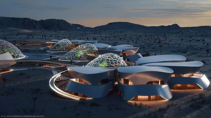 Как могут выглядеть будущие колонии на Марсе