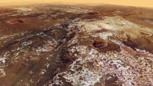 ESA представило видео скрупнейшей долиной Марса